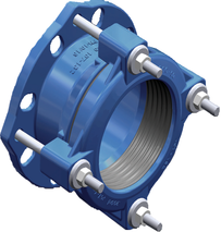 wide tolerance couplings and flange adaptors