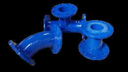 Ductile fittings and flanged pipe