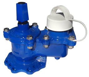 Type 2 hydrant lose stopper - white cap