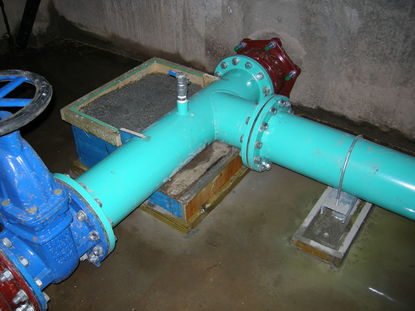 ductile flanged pipe