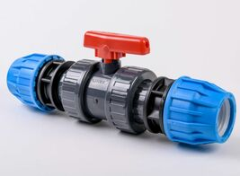 Compression ball valve WRAS approved
